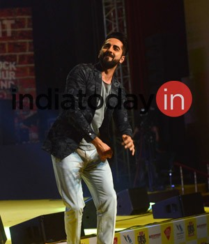 When Ayushmann Khurrana made his way to the India Today Mind Rocks 2017 Delhi, he was greeted with ear-splitting cheer and applause. He began by saying how Delhi was special for him.