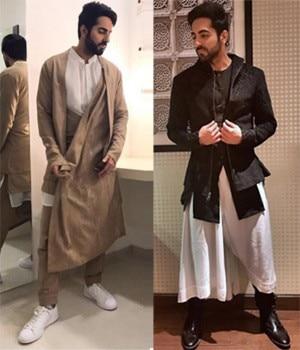 Ayushmann Khurrana, fashion sense, style, Dhruv Vaish, kurta, suit, Rosso Brunello, Canali