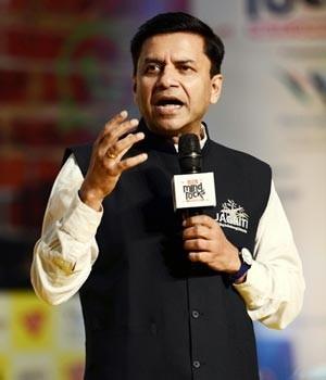 Shashank Tripathi at India Today Mind Rocks 2017