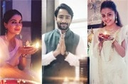 Shaheer Sheikh to Shraddha Arya: TV stars at their sparkling best on Diwali