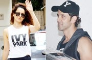 PHOTOS: Hrithik Roshan parties with Karan Johar, Kangana Ranaut trains for Manikarnika