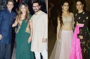 Aamir Khan threw a lavish Diwali party at his residence last night, and the who's who of Bollywood joined him in the celebrations.