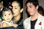 Mira Rajput was clicked outside a restaurant with her daughter Misha, who looked cute as a button, while Akshay Kumar's son Aarav enjoyed an evening out with his friends.