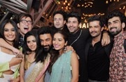 TV celebs at Raqesh and Riddhi's pre-Diwali bash