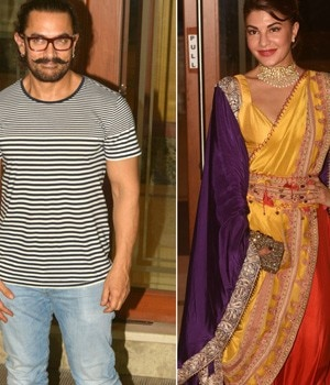 Bollywood's original bad boy Sanjay Dutt hosted a Diwali bash for his B-Town friends. From Salman Khan to Aamir Khan, many came to be a part of the celebration.