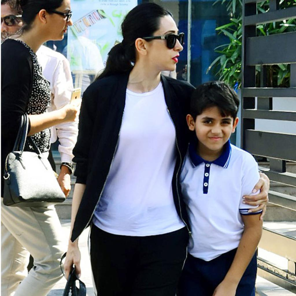 Karisma Kapoor and Kiaan