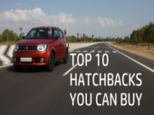 Here are 10 hatchbacks you can choose from right now.