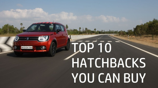 Here are 10 hatchbacks you can choose from.