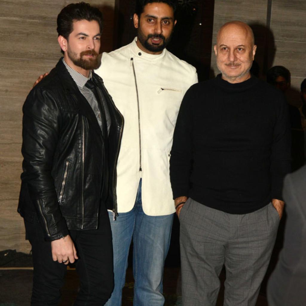 Neil Nitin Mukesh, Abhishek Bachchan, Anupam Kher