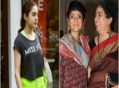 Sara Ali Khan at the gym, Aamir's ex-wife Reena Dutta and Kiran Rao are inseparable