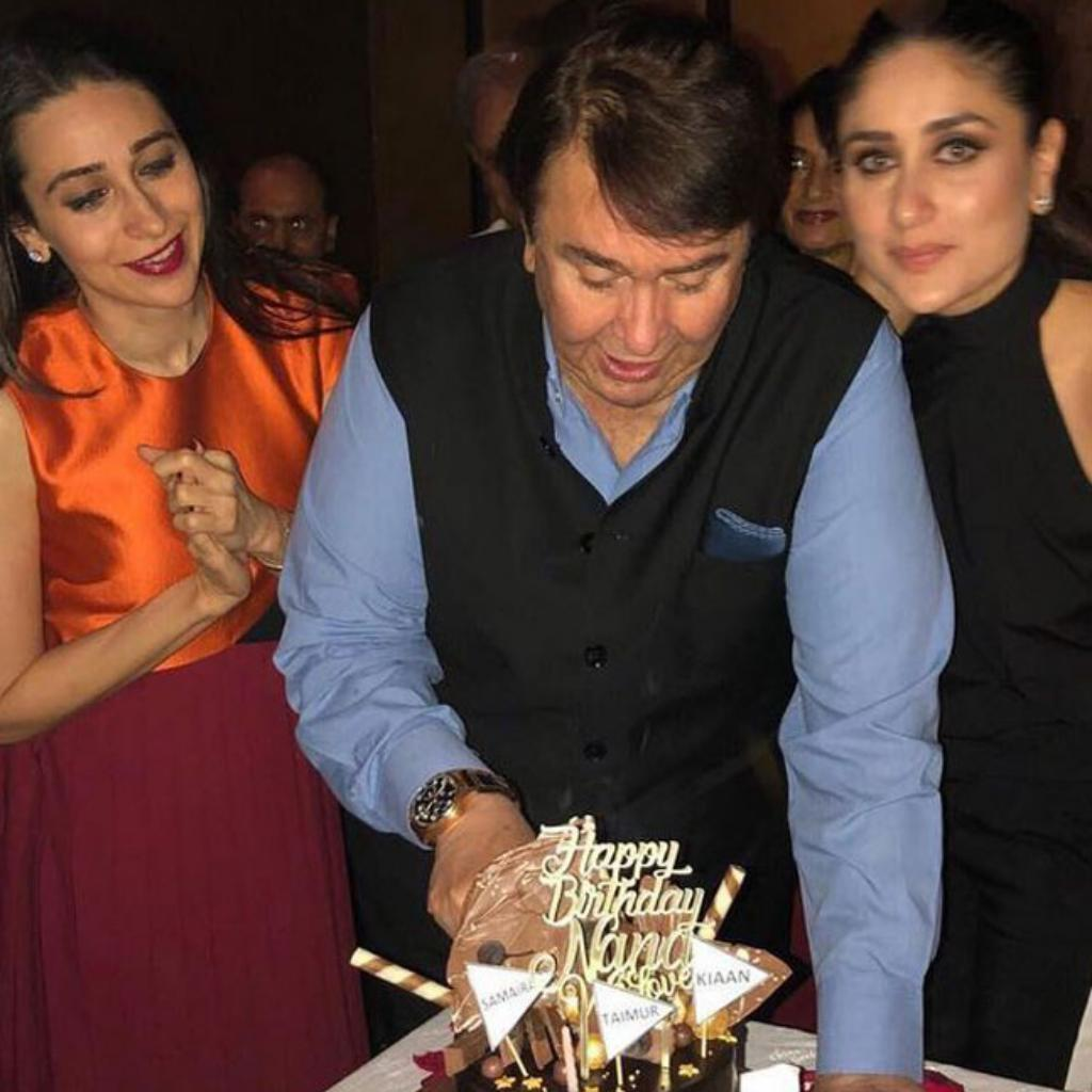 Randhir Kapoor's birthday bash