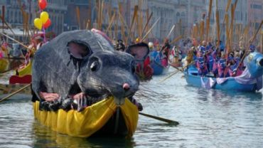 Carnival in Venice is famous in the world for its elaborate masks