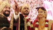 Check out exclusive pictures from actor Gaurav Chopra and Hitisha Cheranda's secret wedding