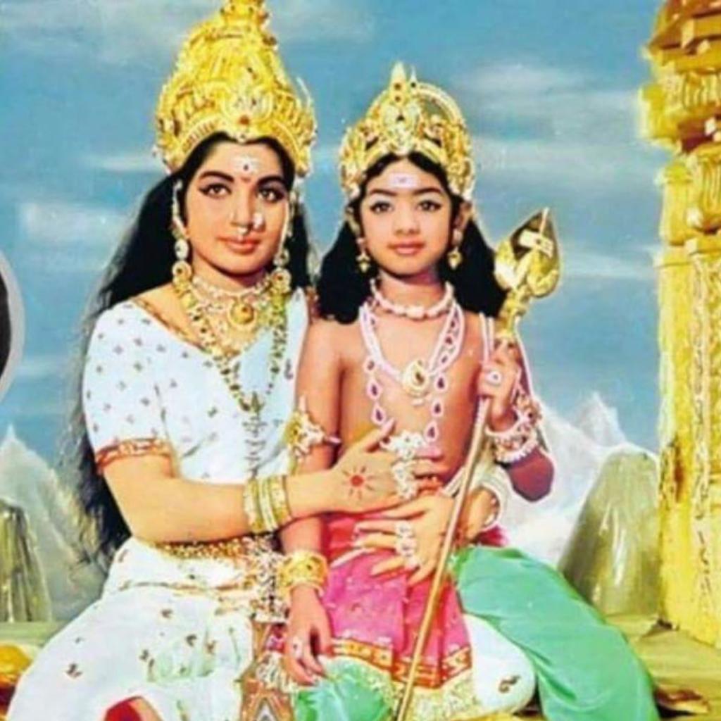 Sridevi with Jayalalitha