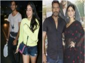 PHOTOS: Ishaan-Janhvi's dinner date, Ajay-Ileana at Raid trailer launch