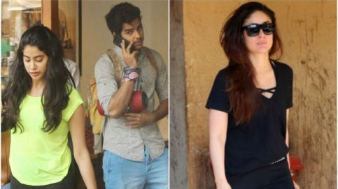 Janhvi Kapoor, Ishaan Khatter, Kareena Kapoor Khan