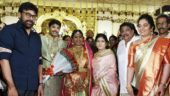 In Pics: Chiranjeevi and Lakshmi Manchu at producer C Kalyan's son's wedding
