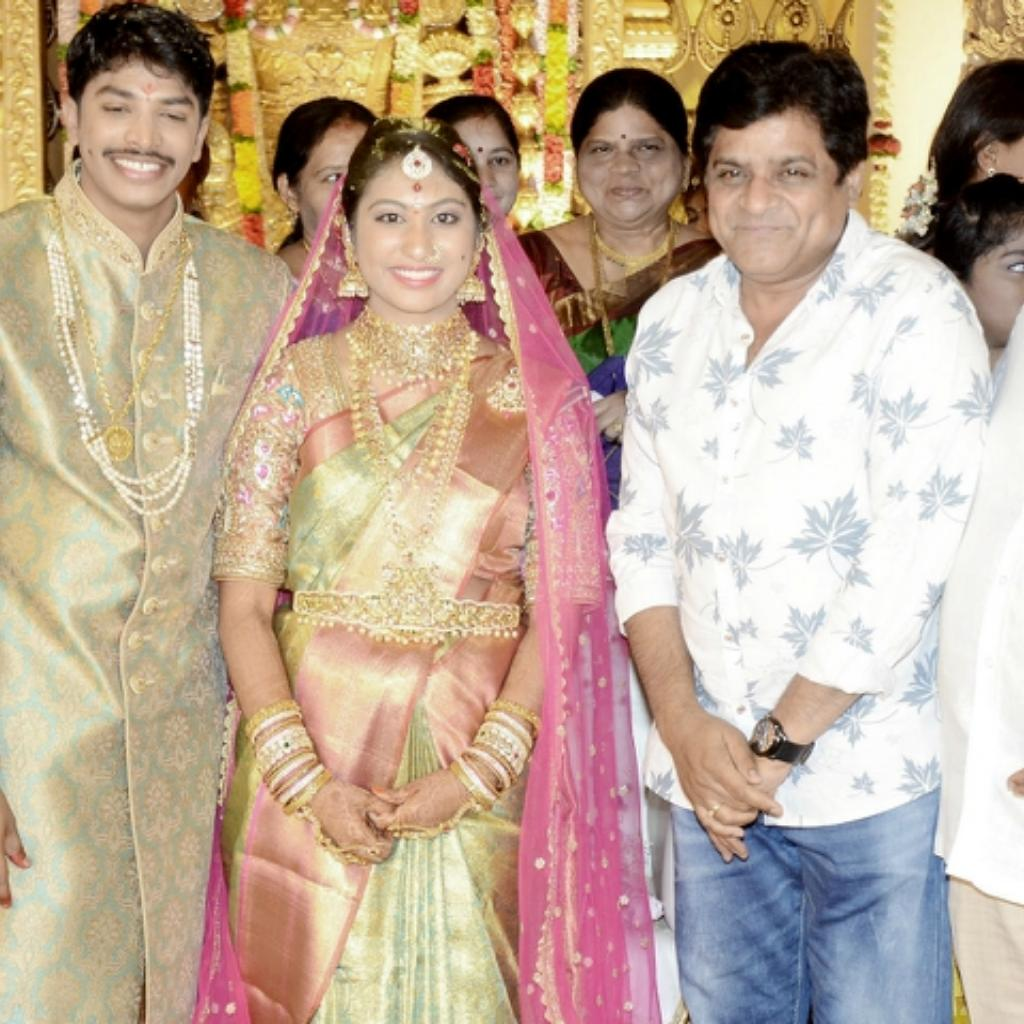 Ali with producer Kalyan's family
