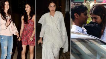 Shanaya Kapoor, Ananya Pandey, Sara Ali Khan, and Khushi Kapoor