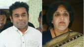 AR Rahman and Latha Rajinikanth at the event