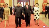 North Korean chief Kim Jong-un with Chinese President Xi Jinping
