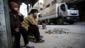 Aid convoy forced to leave Syria's Ghouta, the 'Hell on Earth' | PICTURES