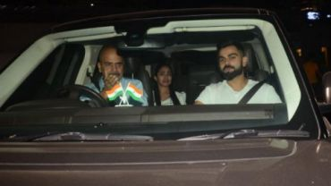 Virat Kohli at Pari screening (Photo Credit: Viral Bhayani)