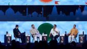 In Pictures| When Ram Mandir became a point of contention between Nirupam, Owaisi, Patra at India Today Conclave 2018