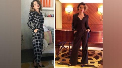 Kangana Ranaut is the queen of power-dressing.