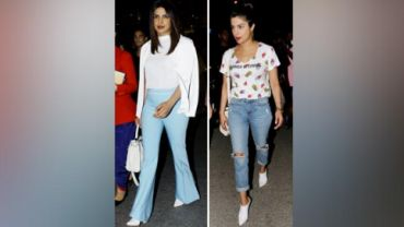 Priyanka Chopra has been opting for easy-breezy outfits.