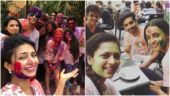 Divyanka-Vivek to Sanaya-Drashti: Here's how your favourite TV celebs played Holi