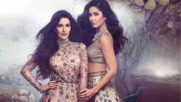 Sisters Katrina and Isabel Kaif look like dreamy brides for latest shootSisters Katrina and Isabel Kaif look like dreamy brides for latest shoot.