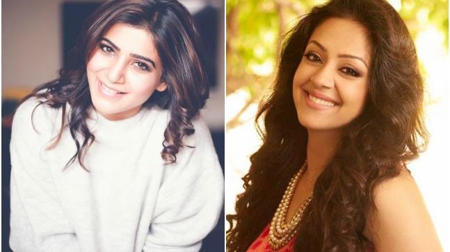 Samantha Akkineni and Jyothika