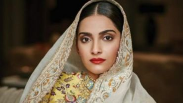 Sonam Kapoor on the cover of Brides Today/