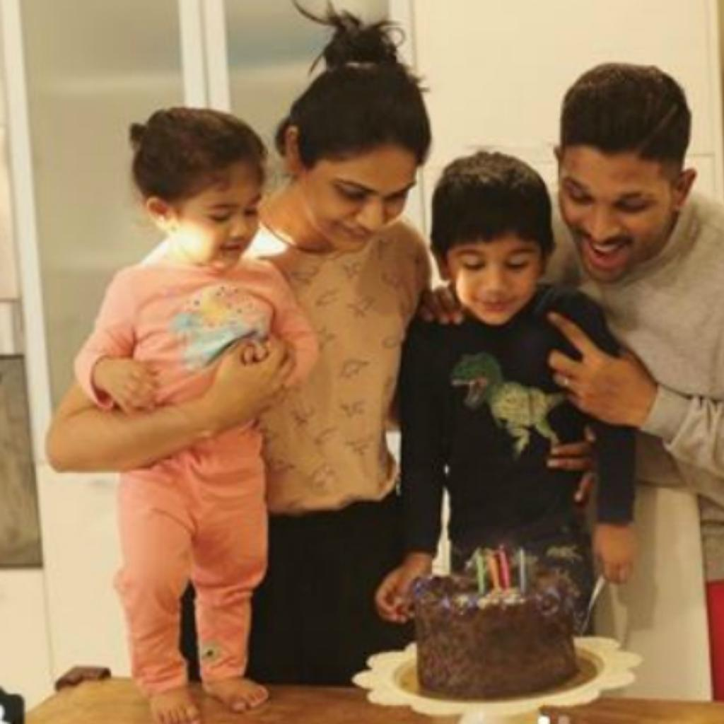 Allu Ayaan's 4th birthday celebrations