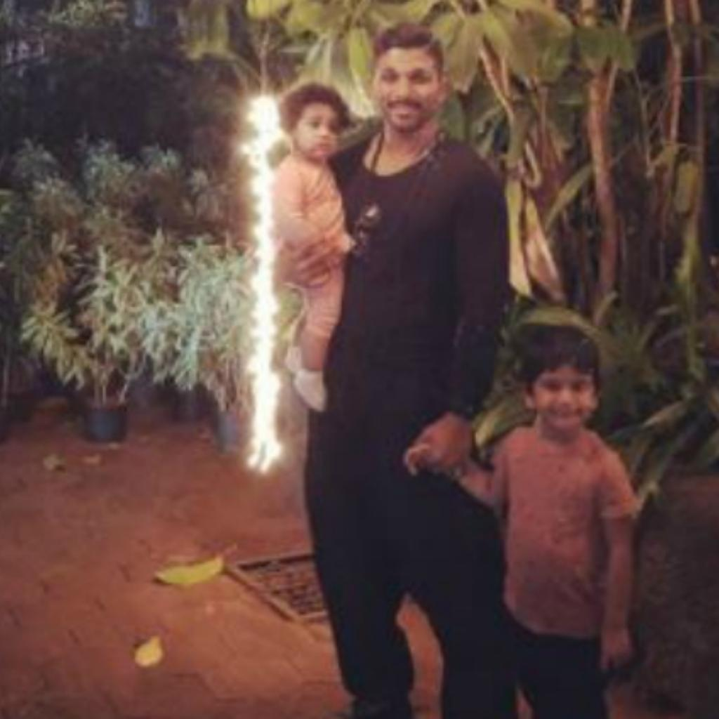 Allu Arha, Arjun and Ayaan