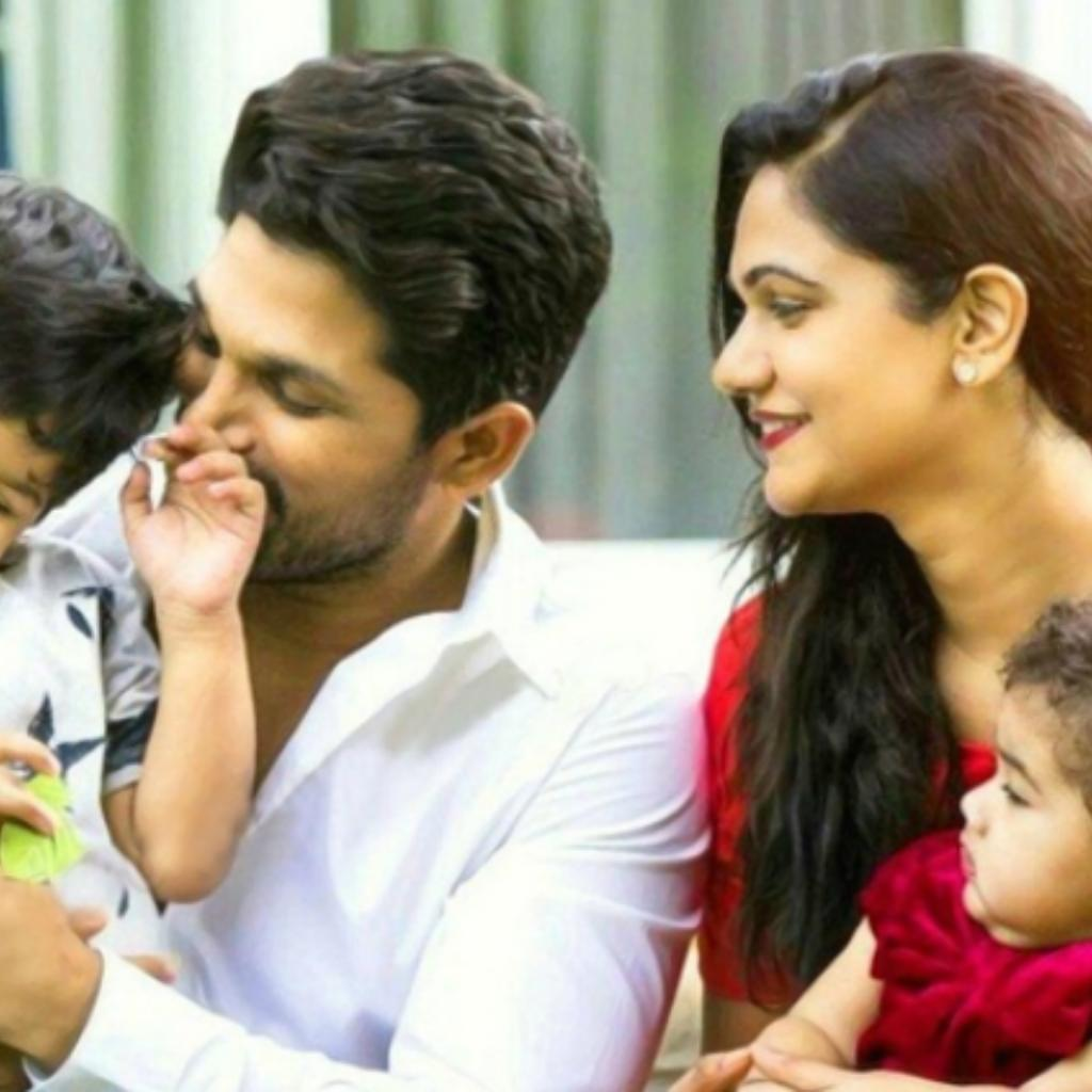 Allu Arjun and family