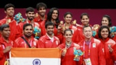 India mixed Badminton team