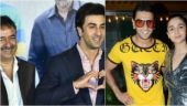 Ranbir Kapoor unveils Sanju teaser, Ranveer Singh and Alia Bhatt at Gully Boy wrap up party