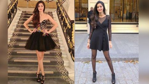 Chunky Panday's daughter, Ananya Panday, is a fashionista in making.