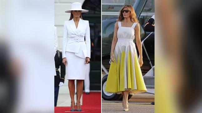 Melania Trump is one of the classiest FLOTUS of all time