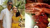 In Pictures: A sneak-peek into Milind Soman and Ankita Konwar's wedding rituals