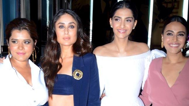 Kareena Kapoor Khan, Sonam Kapoor, Swara Bhasker and Shikha Talsania