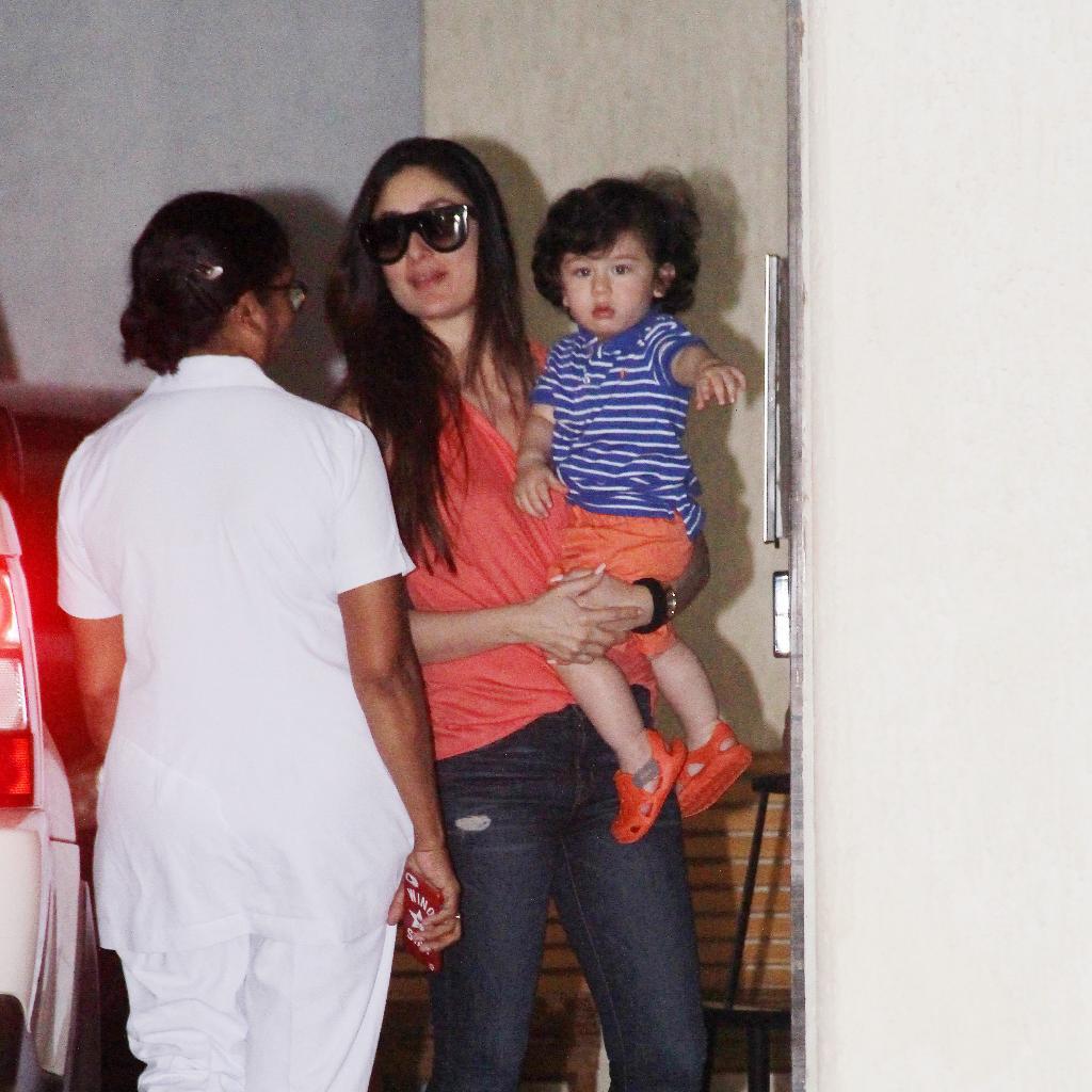 Kareena Kapoor and Taimur