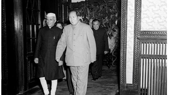 Prime Minister Jawaharlal Nehru with the Chairman of the People's Republic of China