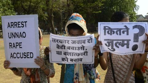 Nationwide protests demand justice for Kathua, Unnao gangrape victims