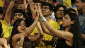 IPL 2018, CSK vs DD: Sakshi super-thrilled as MS Dhoni clobbers 22-ball fifty