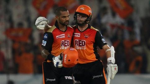 Shikhar Dhawan and Kane Williamson