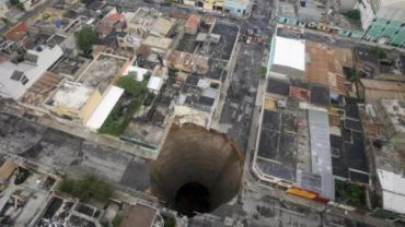 Giant holes from around the world