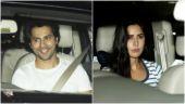 Katrina Kaif to Varun Dhawan, B-Town flocks to Salman Khan's residence